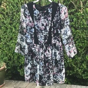 Topshop Long Sleeve Dress Size 6